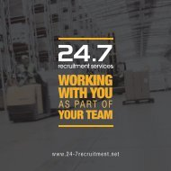 247 Recruitment Brochure