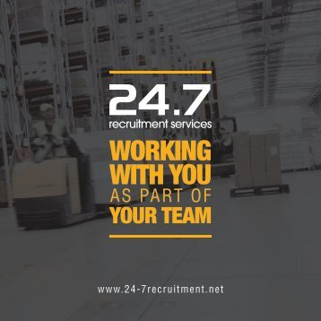 247 Recruitment Brochure