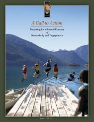 A Call to Action - National Park Service