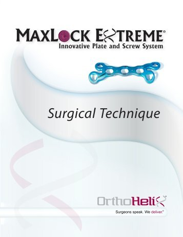 Surgical Technique
