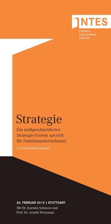 Strategie - INTES