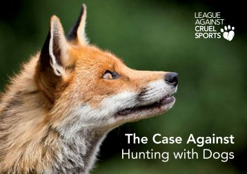 the case against hunting with dogs