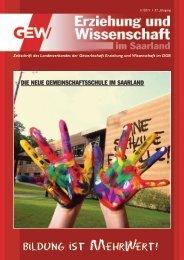Bildu g ist MehrWert! n - GEW-Saarland
