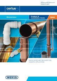 Certus ShowerSave Product Guide - ASC Info