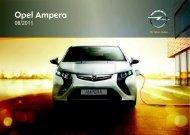 Opel Ampera MY 12.0 - Ampera MY 12.0 manuale