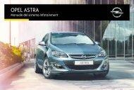 Opel Nuova Astra MY 15.5 - Nuova Astra MY 15.5 manuale