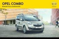 Opel Combo MY 12.0 - Combo MY 12.0 manuale