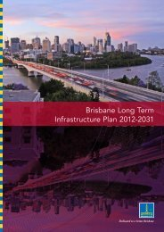 Brisbane Long Term Infrastructure Plan 2012-2031