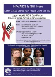 HIV/AIDS World AIDS Is Still Day Here