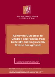 Culturally and Linguistically Diverse Backgrounds