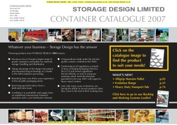 CONTAINER CATALOGUE 2007
