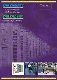 metabolt metaclip shelving - pdf - Storage Design Limited