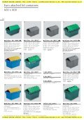 Stacking and nesting containers with lids - Page 4
