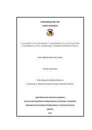 en el marco del comercio internacional - Universidad Militar Nueva ...