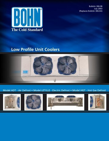 Low Profile Unit Coolers