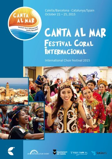 Canta al mar 2015 - Program Book