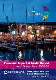 Economic Impact & Media Report Volvo Ocean Race 2008-09