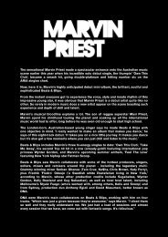 The sensational Marvin Priest made a spectacular ... - Premier Artists