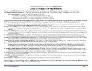 2013-14 Research Residencies