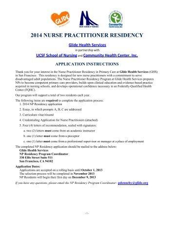 2014 NURSE PRACTITIONER RESIDENCY