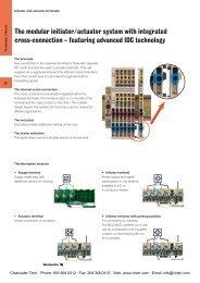 Modular Initiator/Actuator - Clearwater Technologies, Inc.