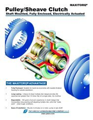 Pulley/Sheave Clutch