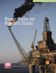 Power Packs for Rigs and Stacks
