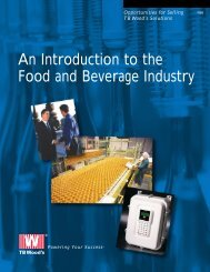 An Introduction to the Food and Beverage Industry