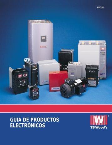 GUIA DE PRODUCTOS ELECTRÓNICOS