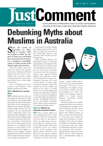 Debunking Myths about Muslims in Australia
