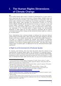 Background Paper HUMAN RIGHTS AND CLIMATE CHANGE - Page 7