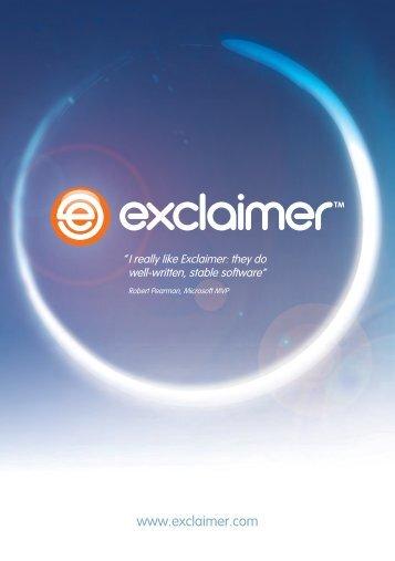 www.exclaimer.com