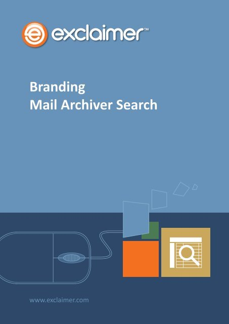 Branding Mail Archiver Search