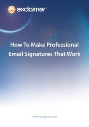 How To Make Professional Email Signatures That Work
