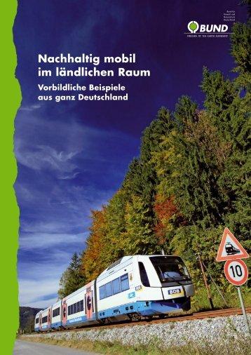 Nachhaltig mobil im ländlichen Raum