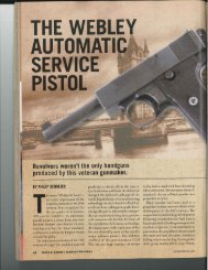 produced by this veteran gunmaker: - The National Firearms Museum