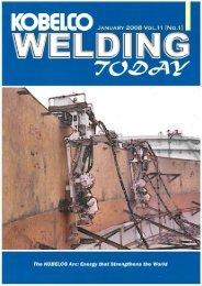 Kobelco Welding Today Vol.11 No.1 2008