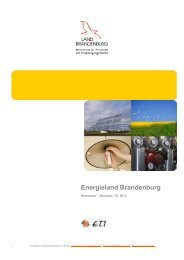 Energieland Brandenburg - MBA Programme der HWR Berlin