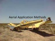 Aerial Application Methods