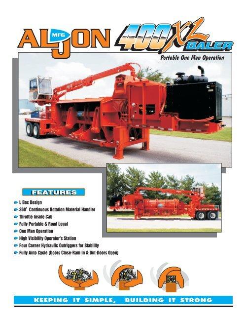 400XL Logger Baler.cdr - Al-jon
