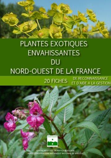 Plantes exotiques envahissantes du Nord-Ouest de la France