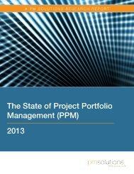 Management (PPM) 2013
