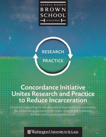 Concordance Initiative Unites Research and Practice to Reduce Incarceration