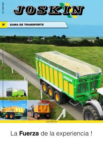 Gama transporte - joskin