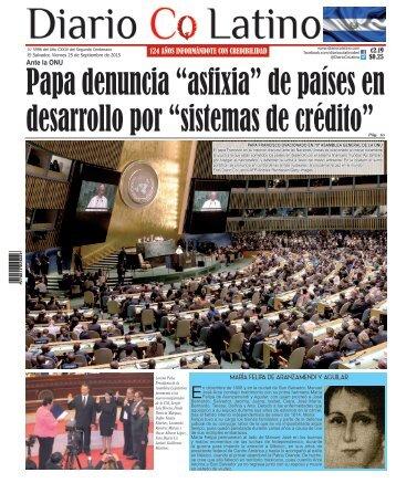 Edición 25 de Septiembre de 2015