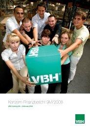 Konzern-Finanzbericht 9M/2008