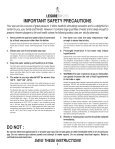 IMPORTANT SAFETY INSTRUCTIONS - Page 4