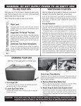 IMPORTANT SAFETY INSTRUCTIONS - Page 6