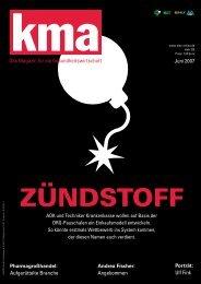 Jetzt online anmelden: www.kmanews.de - kma Online