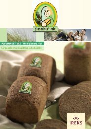 PLUSMINUS -MIX – the high fibre loaf For people who would like to be healthy